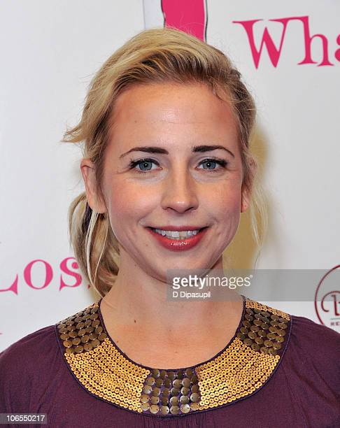 Actress Alicia Goranson attends the after party for the new cast of Love Loss And What I Wore at L'allegria on November 4 2010 in New York City