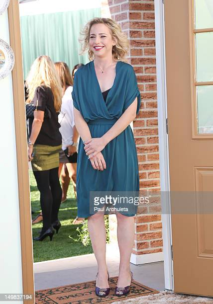 Actress Alicia Goranson attends the Comedy Central Roast of Roseanne Barr at Hollywood Palladium on August 4 2012 in Hollywood California