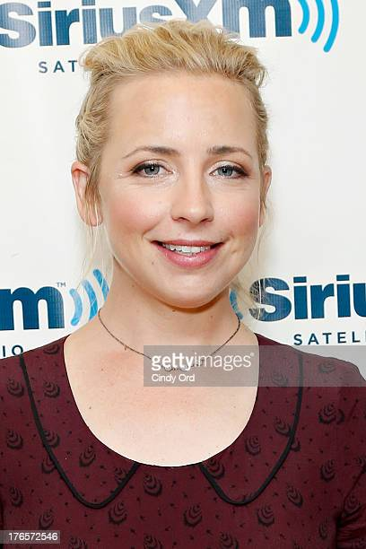 Actress Alicia Goranson visits the SiriusXM Studios on August 15 2013 in New York City