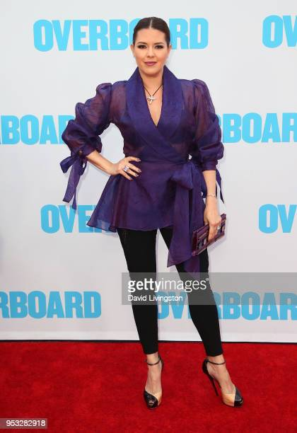 Actress Alicia Machado attends the premiere of Lionsgate and Pantelion Film's Overboard at Regency Village Theatre on April 30 2018 in Westwood...