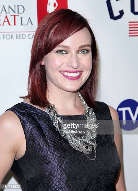 Actress Alicia Malone attends the Hollyshorts 11th Annual Opening Night Celebration at TCL Chinese 6 Theatres on August 13 2015 in Hollywood...