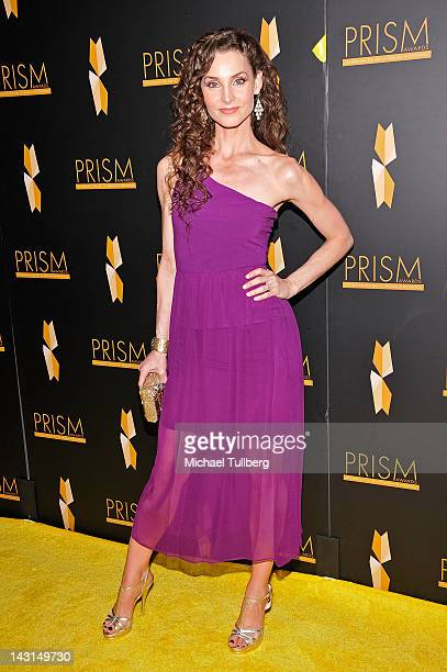 Actress Alicia Minshew arrives at the 16th Annual Prism Awards at the Beverly Hills Hotel on April 19 2012 in Beverly Hills California