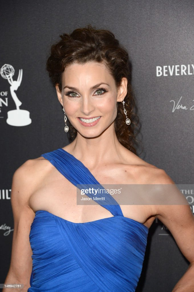 Actress Alicia Minshew arrives at The 39th Annual Daytime Emmy Awards broadcasted on HLN held at The Beverly Hilton Hotel on June 23, 2012 in Beverly Hills, California. (Photo by Jason Merritt/WireImage) 22542_002_JM_1922.JPG
