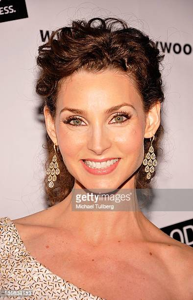 Actress Alicia Minshew arrives at The Hollywood Agency's Private AfterParty for The People's Choice Awards at Club Nokia at LA Live on January 11...