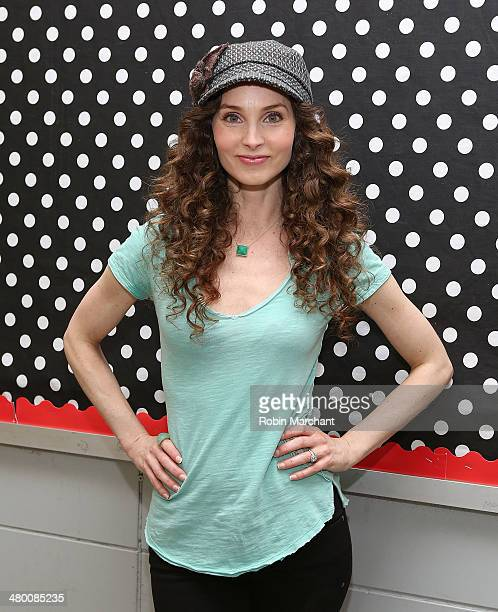 Actress Alicia Minshew attends Save The Music Foundation's 'Family Day' at The Anderson School on March 22 2014 in New York City