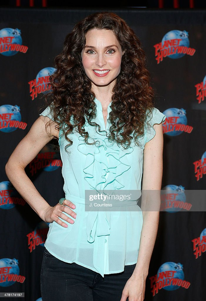 Alicia Minshew Visits Planet Hollywood Times Square