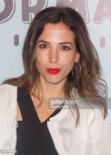 Actress Alicia Rubio attends 'Requisitos para ser una persona normal' premiere at Palafox cinema on June 3 2015 in Madrid Spain