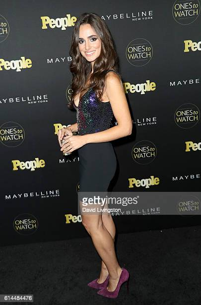 Actress Alicia Sanz arrives at People's 'Ones to Watch' at EP LP on October 13 2016 in West Hollywood California