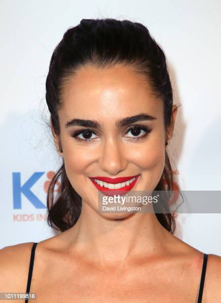 Actress Alicia Sanz attends Kind Los Angeles Coming Together for Children Alone at Helms Design Center on August 4 2018 in Culver City California