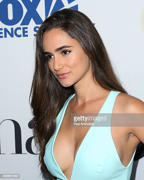 Actress Alicia Sanz attends Latina Magazine's 'Hot List' party at The London West Hollywood on October 6 2015 in West Hollywood California