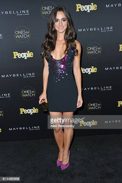 Actress Alicia Sanz attends People's Ones To Watch party at EP LP on October 13 2016 in West Hollywood California