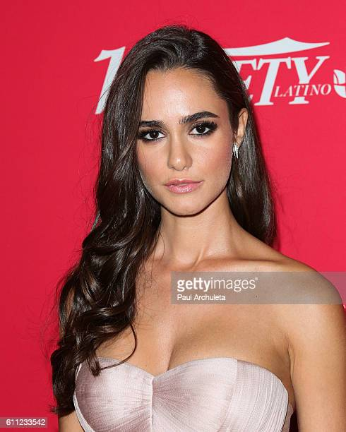 Actress Alicia Sanz attends Variety's '10 Latinos To Watch' ceremony at The London West Hollywood on September 28 2016 in West Hollywood California