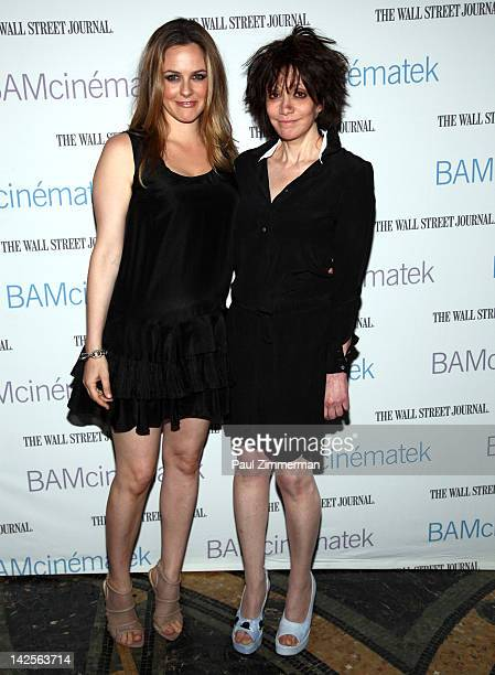 Actress Alicia Silverstone and director Amy Heckerling attend the 'Clueless' screening during Hey Girlfriend Lena Dunham Selects at BAM Rose Cinemas...