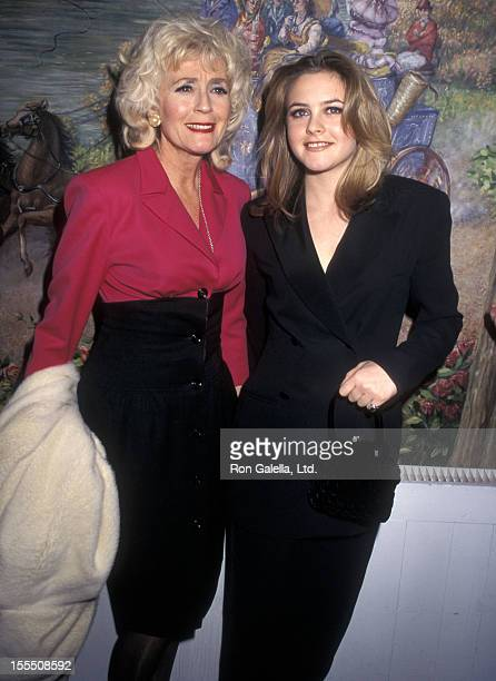 Actress Alicia Silverstone and mother Didi Radford attend the 67th Annual National Board of Review of Motion Pictures Awards on February 26 1996 at...