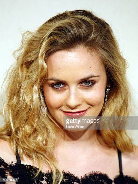 Actress Alicia Silverstone arrives at the 2004 Crystal Lucy Awards A Family Affair Women in Film Celebrates The Paltrow Family at the Century Plaza...