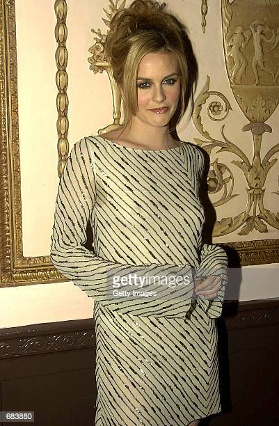 Actress Alicia Silverstone arrives at the third annual Directors Guild of America Awards June 9 2002 in New York City