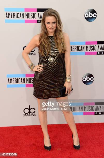 Actress Alicia Silverstone attends the 2013 American Music Awards at Nokia Theatre LA Live on November 24 2013 in Los Angeles California