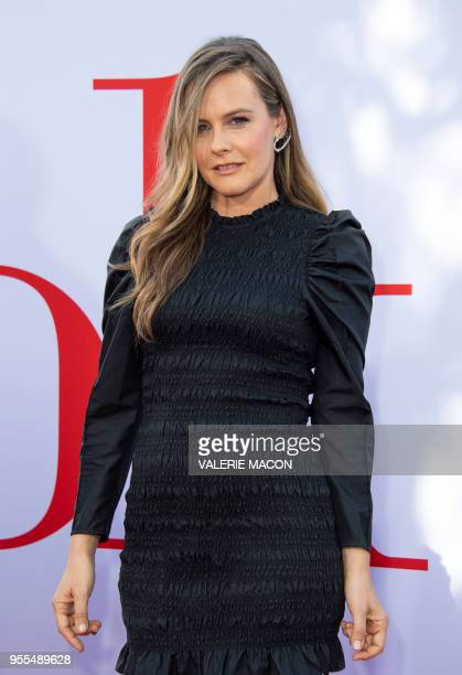 Actress Alicia Silverstone attends the Book Club premiere on May 6 2018 in Westwood California