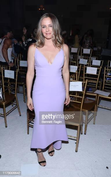 Actress Alicia Silverstone attends the Christian Siriano show during New York Fashion Week at Gotham Hall on September 07 2019 in New York City