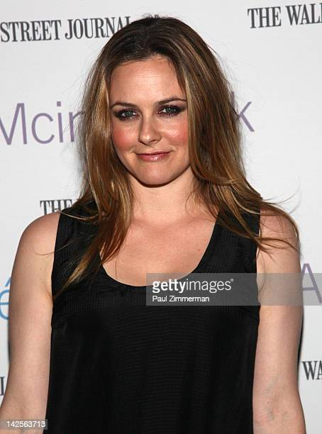 Actress Alicia Silverstone attends the Clueless screening during Hey Girlfriend Lena Dunham Selects at BAM Rose Cinemas on April 7 2012 in New York...