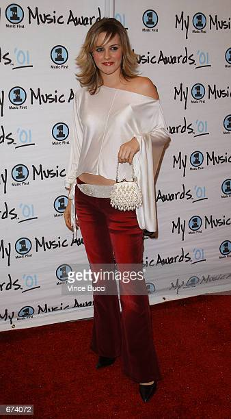 Actress Alicia Silverstone attends the 'My VH1 Music Awards' at the Shrine Auditorium December 2 2001 in Los Angeles CA