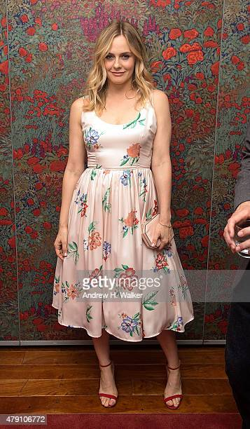 Actress Alicia Silverstone attends the 'Of Good Stock' opening night party at Brasserie 8 1/2 on June 30 2015 in New York City