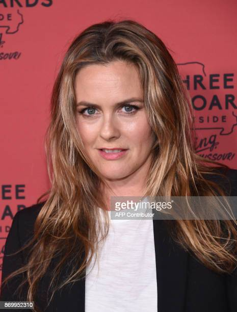 Actress Alicia Silverstone attends the premiere of Three Billboards Outside Ebbing Missouri at Neuehouse Hollywood in Los Angeles on November 3 2017...