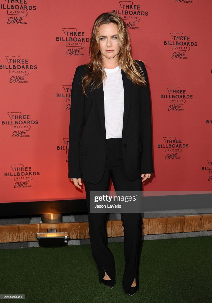 Actress Alicia Silverstone attends the premiere of 'Three Billboards Outside Ebbing, Missouri' at NeueHouse Hollywood on November 3, 2017 in Los Angeles, California.