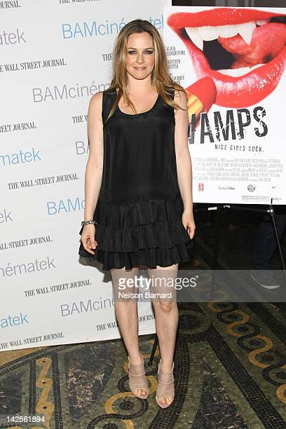Actress Alicia Silverstone attends the sneak preview of Heckerling's 'Vamps' and the 'Clueless' screening during Hey Girlfriend Lena Dunham Selects...