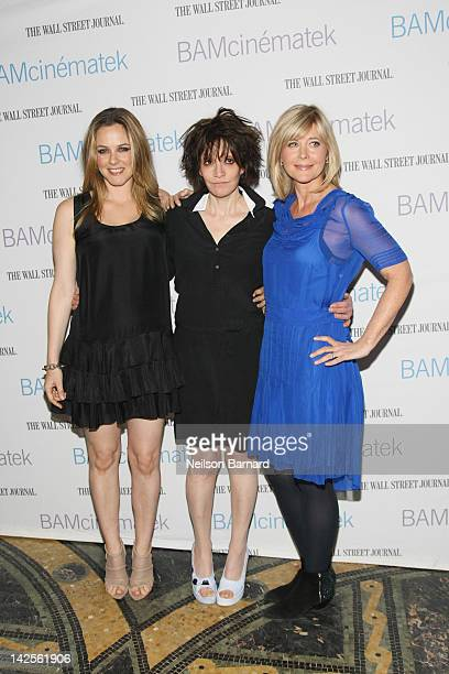 Actress Alicia Silverstone director Amy Heckerling and producer Lauren Versel attend the sneak preview of Heckerling's 'Vamps' and the 'Clueless'...
