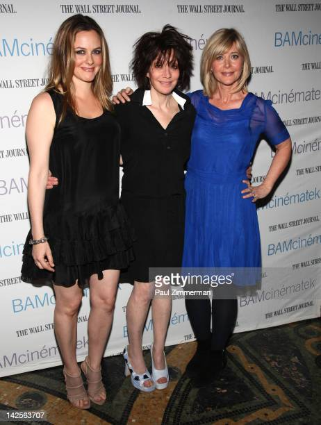 Actress Alicia Silverstone director Amy Heckerling and producer Lauren Versel attend the Clueless screening during Hey Girlfriend Lena Dunham Selects...