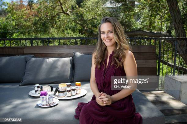 Actress Alicia Silverstone is photographed for Los Angeles Times on September 10 2018 in Los Angeles California Silverstone has teamed up with a top...
