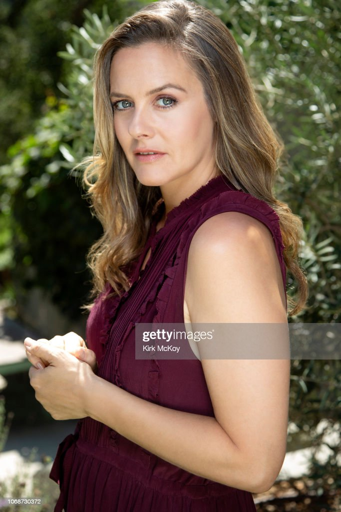 Alicia Silverstone, Los Angeles Times, October 6, 2018 : News Photo