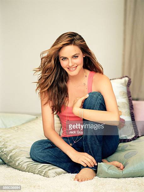 Actress Alicia Silverstone is photographed for Redbook Magazine in 2006 in Los Angeles California