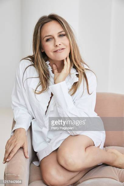 Actress Alicia Silverstone is photographed for Working Mother Magazine on August 2, 2018 in New York City. PUBLISHED IMAGE.