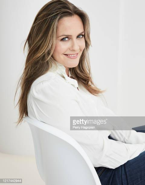 Actress Alicia Silverstone is photographed for Working Mother Magazine on August 2, 2018 in New York City. COVER IMAGE.