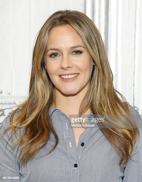 Actress Alicia Silverstone visits Build Studio to discuss the television show American Woman on June 5 2018 in New York City