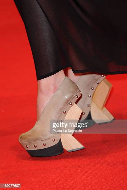 Actress Alicia Vikander attends the En Kongelig Affaere Premiere during day eight of the 62nd Berlin International Film Festival at the Berlinale...