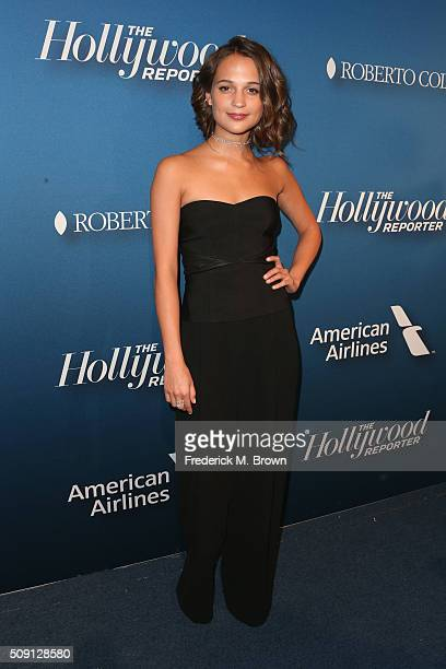 Actress Alicia Vikander attends The Hollywood Reporter's 4th Annual Nominees Night at Spago on February 8 2016 in Beverly Hills California