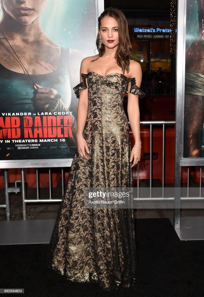 "U.S. Premiere Of ""Tomb Raider"""
