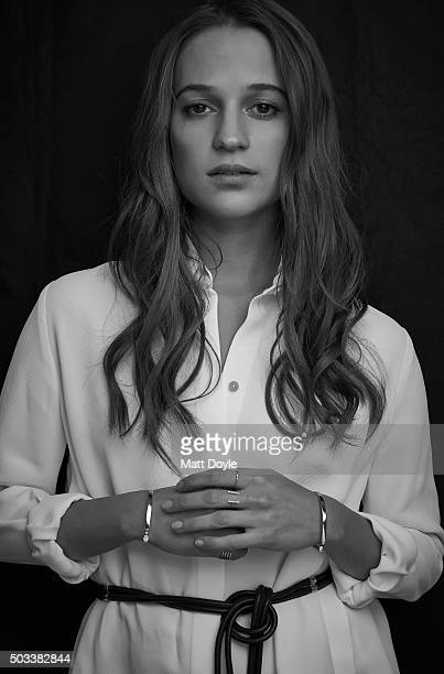 Actress Alicia Vikander is photographed for SAG Foundation on December 15 in New York City Credit must read Matt Doyle/SAG/Contour by Getty Images