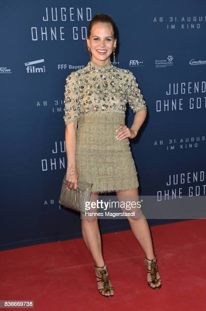 Actress Alicia von Rittberg during the 'Jugend ohne Gott' premiere at Mathaeser Filmpalast on August 21 2017 in Munich Germany