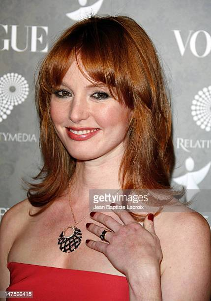 Actress Alicia Witt arrives at the Art of Elysium 2nd Annual Heaven Gala held at Vibiana on January 10, 2009 in Los Angeles, California.