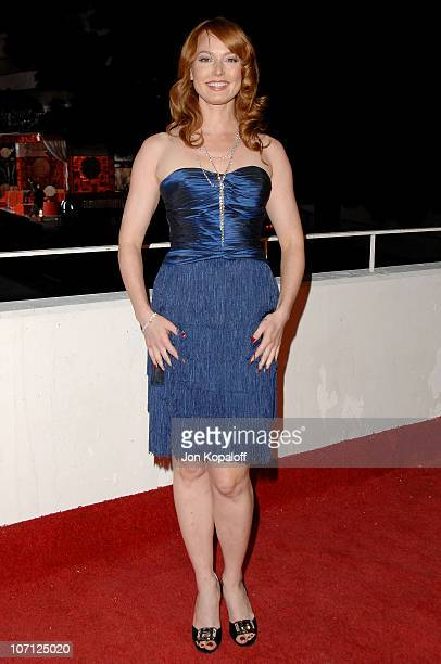 Actress Alicia Witt arrives at The Art of Elysium's 3rd Annual BlackTie Charity Gala Heaven at 9900 Wilshire Blvd on January 16 2010 in Beverly Hills...