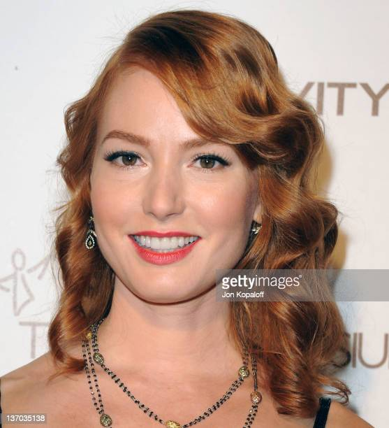 Actress Alicia Witt arrives at the Art of Elysium's 5th Annual Heaven Gala held at Union Station on January 14, 2012 in Los Angeles, California.