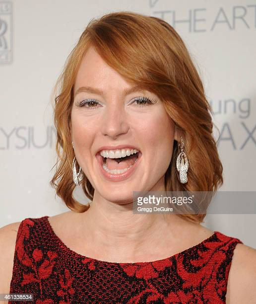 Actress Alicia Witt arrives at The Art Of Elysium's 8th Annual Heaven Gala at Hangar 8 on January 10 2015 in Santa Monica California