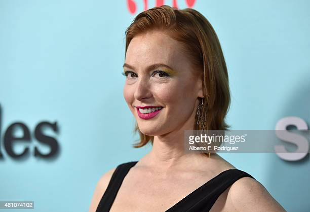 Actress Alicia Witt arrives to Showtime's Celebration of AllNew Seasons Of 'Shameless' 'House Of Lies' And 'Episodes' at Cecconi's Restaurant on...