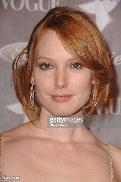 Actress Alicia Witt arrives to The Art of Elysium 10th Anniversary Gala at Vibiana on January 12, 2008 in Los Angeles, California.
