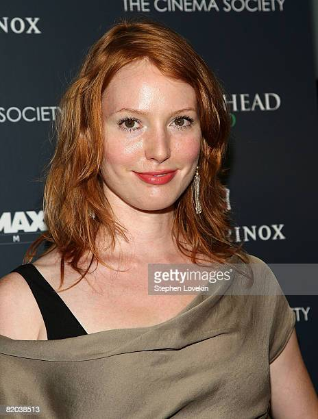 Actress Alicia Witt attends a screening of Brideshead Revisited hosted by The Cinema Society and Victorinox at AMC Loews 19th Street East 6 July 22...
