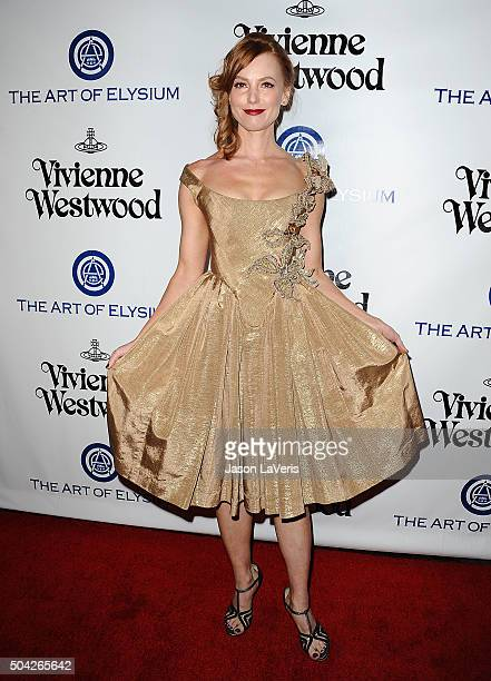 Actress Alicia Witt attends Art of Elysium's 9th annual Heaven Gala at 3LABS on January 9 2016 in Culver City California